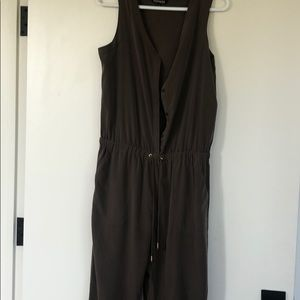 Olive green express jumpsuit